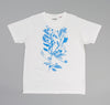 The Hill-Side Liza's Tree Drawing Printed T-Shirt, Natural White