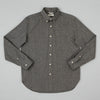 The Hill-Side Standard Shirt, Warm Black Covert Chambray