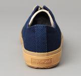 The Hill-Side - Low Top Sneakers, Lightweight Indigo Sashiko - SN2-244