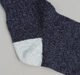 The Hill-Side - Navy / Light Blue / Orange Socks - SX2-02