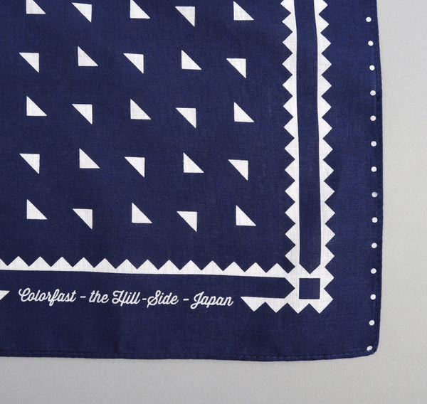 The Hill-Side - Navy Souvenir Bandana Classic Logo - SB1-01