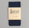 The Hill-Side - Overdyed Soft Oxford Pocket Square, Navy - PS1-226