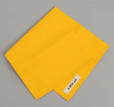 The Hill-Side - Overdyed Soft Oxford Pocket Square, Yellow - PS1-229