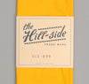 The Hill-Side - Overdyed Soft Oxford Small Scarf, Yellow - SC2-229