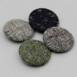 The Hill-Side - Pin-Back Buttons, Galaxy Tweeds - PB1-16