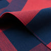 The Hill-Side - Pocket Square, Indigo/Red Flannel, Buffalo Check - PS1-380