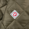 The Hill-Side Quilted Ueno Jacket, Water-Resistant Brushed Nylon, Sage Green