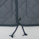 The Hill-Side Quilted Ueno Jacket, Water-Resistant Brushed Nylon, Slate Blue