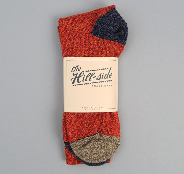 The Hill-Side - Red / Navy / Green Socks - SX2-03
