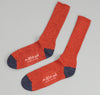 The Hill-Side - Red / Navy Socks - SX1-00