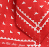 The Hill-Side Red Souvenir Bandana Classic Logo