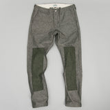 The Hill-Side - Reinforced Mil Chinos, Wool Blend Galaxy Tweed, Oatmeal - LP2-386