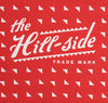 The Hill-Side - SB2-02 - Classic Logo Souvenir Bandana Scarf, Red - SB2-X-SS15-2