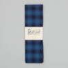 The Hill-Side - Scarf, Indigo Ombre Plaid Flannel - SC1-375