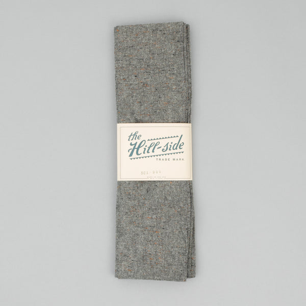 "The Hill-Side - Scarf, Wool Blend ""Galaxy"" Tweed, Oatmeal - SC1-386"
