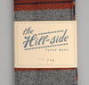The Hill-Side Wool/Cotton Blanket Stripe Scarf, Grey/Navy/Rust