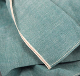 The Hill-Side - Selvedge Chambray Bandana, Turquoise - BA1-071