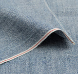 The Hill-Side - Selvedge Covert Chambray Pocket Square, Light Indigo - PS1-288