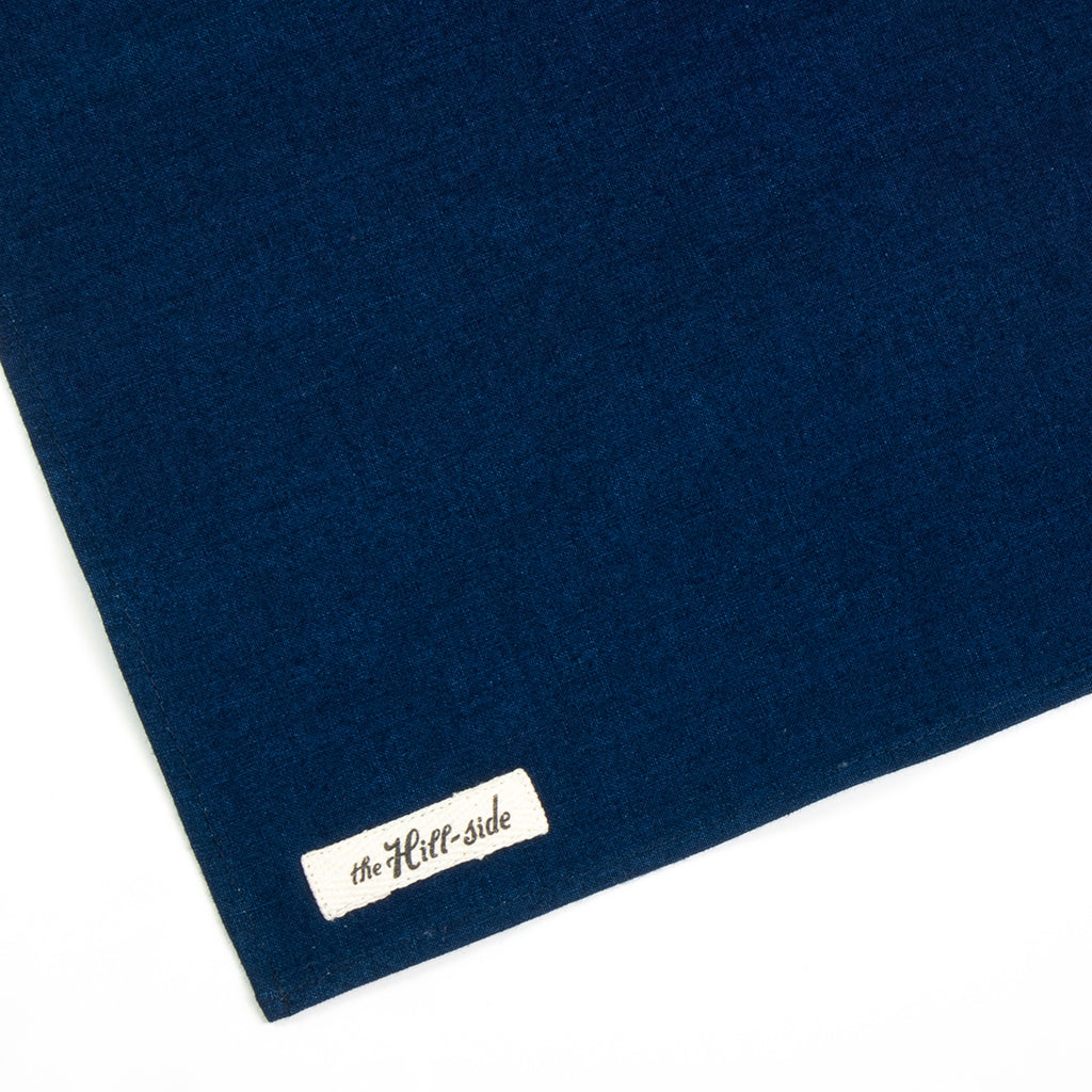 Selvedge Double Indigo Oxford Pocket Square