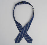 The Hill-Side - Selvedge Indigo Wabash Dot-Stripe Bow Tie - BT1-303