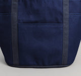 The Hill-Side - Selvedge Lightweight Indigo Sashiko Heavy Duty Tote Bag - TB2-244