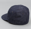 The Hill-Side Selvedge Lightweight Weft-Slub Denim Ball Cap, Indigo