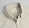 The Hill-Side - Selvedge Oxford Cloth Button-Down Shirt, Olive - SH1-286
