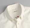 The Hill-Side - Selvedge Oxford Cloth Short Sleeve Standard Shirt, White - SH2-284