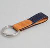The Hill-Side - Selvedge Panama Cloth Key Fob, Indigo - KY1-072