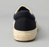 The Hill-Side - Slip-On Sneakers, Indigo Chambray / Panama Cloth - SN5-001