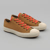 The Hill-Side - Standard Low Tops, Dark Gold & Blaze Orange 60/40 Grosgrain - SN2-404
