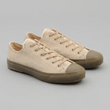 The Hill-Side - Standard Low Tops, Melton Wool, Oatmeal - SN2-407
