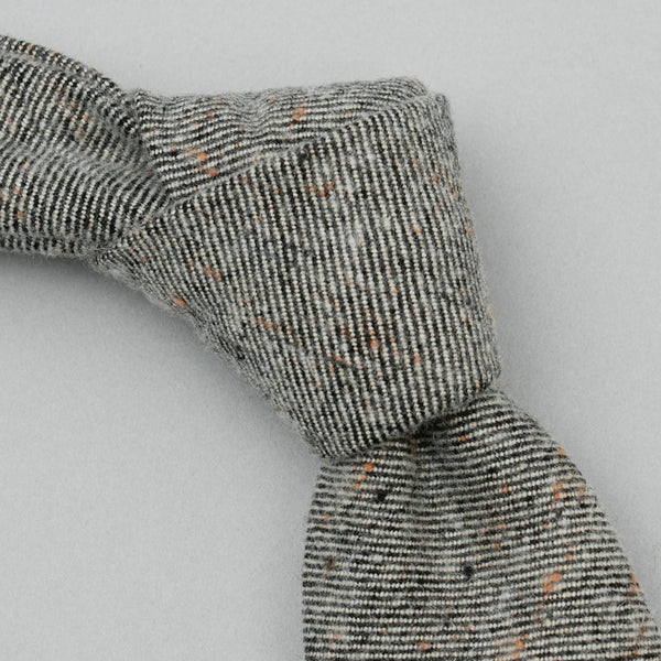 The Hill-Side - Standard Pointed Tie, Wool Blend