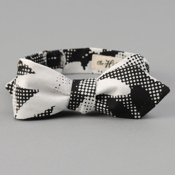 The Hill-Side - TOMS x The Hill-Side Bow Tie, Big Halftone Floral Print - BT1-447T