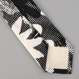The Hill-Side - TOMS x The Hill-Side Standard Pointed Tie, Big Halftone Floral Print - PT1-447T