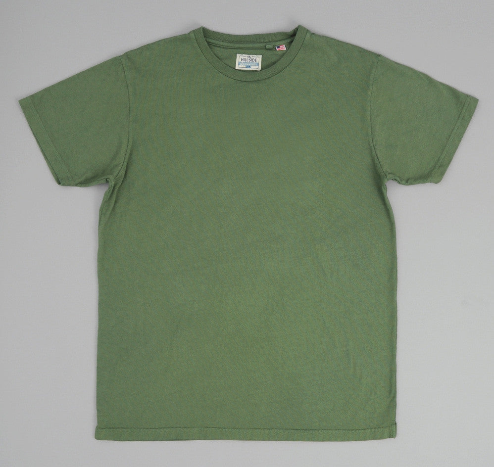 The Hill-Side - T-Shirt, Army Green - TS1-0002