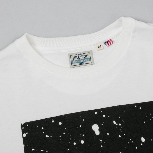 The Hill-Side - T-Shirt, Discovery of Pluto, Natural White - TS1-1001