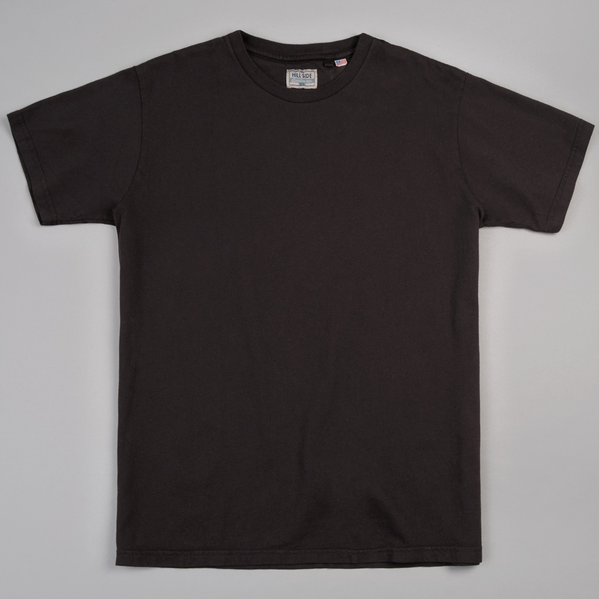 The Hill-Side - T-Shirt, Faded Black - TS1-0004
