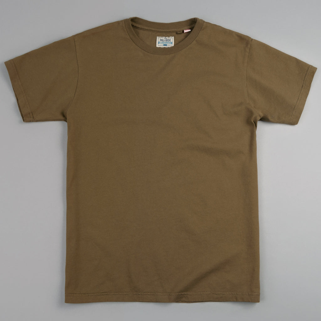 The Hill-Side - T-Shirt, Olive Drab - TS1-0013