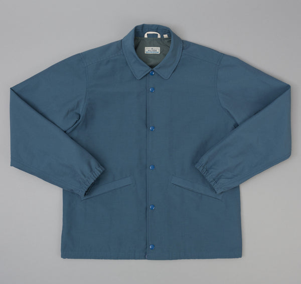 The Hill-Side - Ueno Jacket, Slate Blue 60/40 Grosgrain - JK9-352