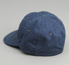 The Hill-Side - Wabash Polka Dot 6-Panel Ball Cap, Indigo - CA1-271