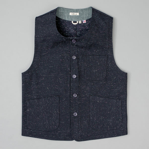 The Hill-Side - Weekend Vest, Wool Blend