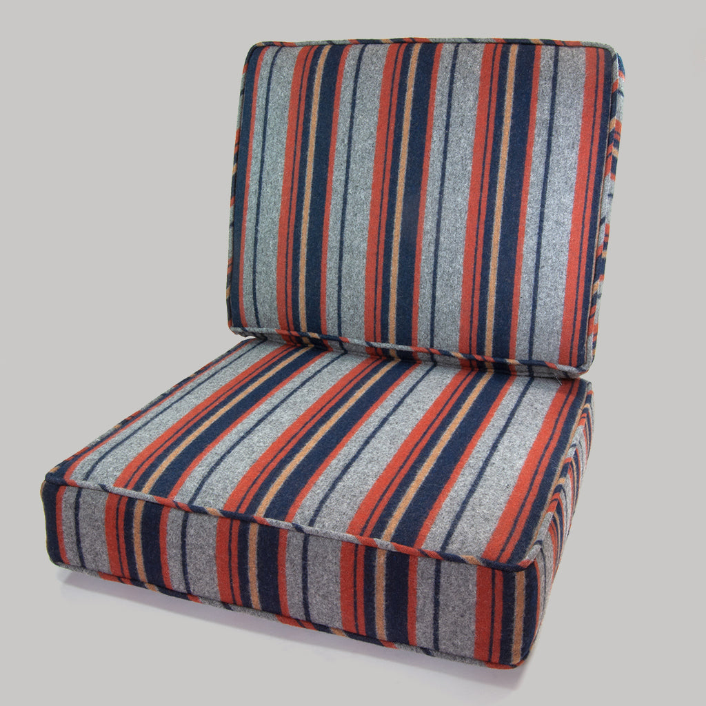 The Hill-Side Custom Upholstered Seat Cushions