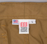 Topo Designs - Camp Shorts, Tan -