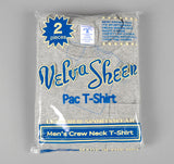 Velva Sheen Crew Neck Pocket T-Shirt 2-Pack, Heather Grey