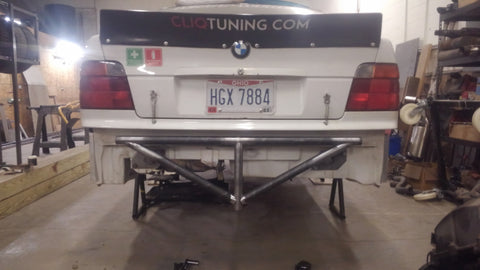 BMW 318ti (compact) Rear Bash Bar V2.0