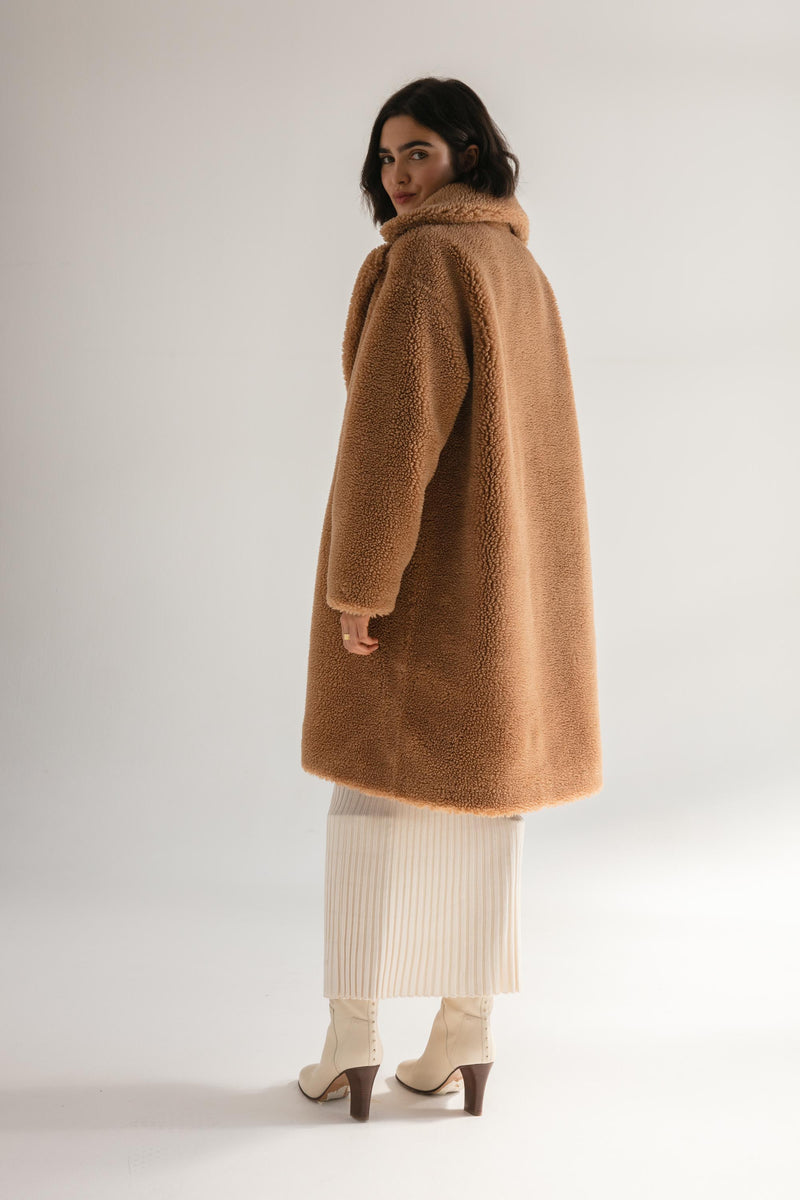 The Harriet Teddy Coat