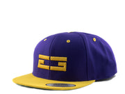 PURPLE / GOLD EG SNAPBACK - Educ8d + Gifted