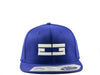 ROYAL BLUE / WHITE EG SNAPBACK, Hat - Educ8d + Gifted