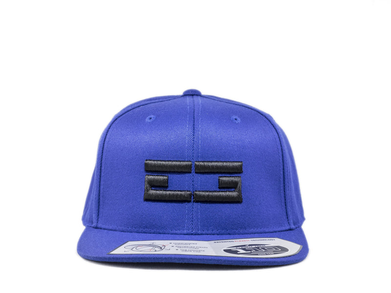 ROYAL BLUE / BLACK EG SNAPBACK, Hat - Educ8d + Gifted